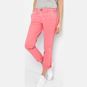 GAP | Relaxed Fit Girlfriend Chino Pink Kiss Sz 2